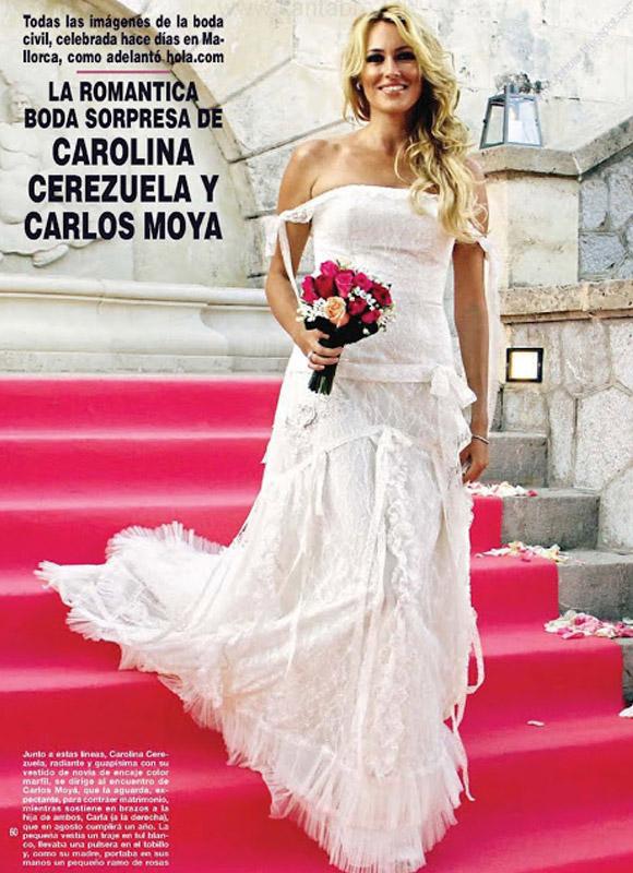 Novia Cerezuela Cerezuela Vestido De Novia Cerezuela Carolina De Vestido Vestido Novia Carolina De Carolina ZgAgP4q